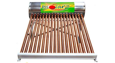 Calentador solar de baja presión.